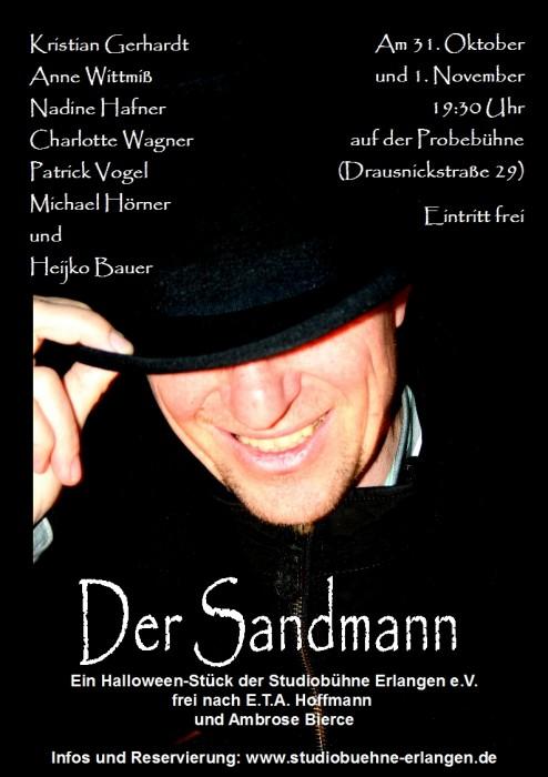 Sandmann-Plakat