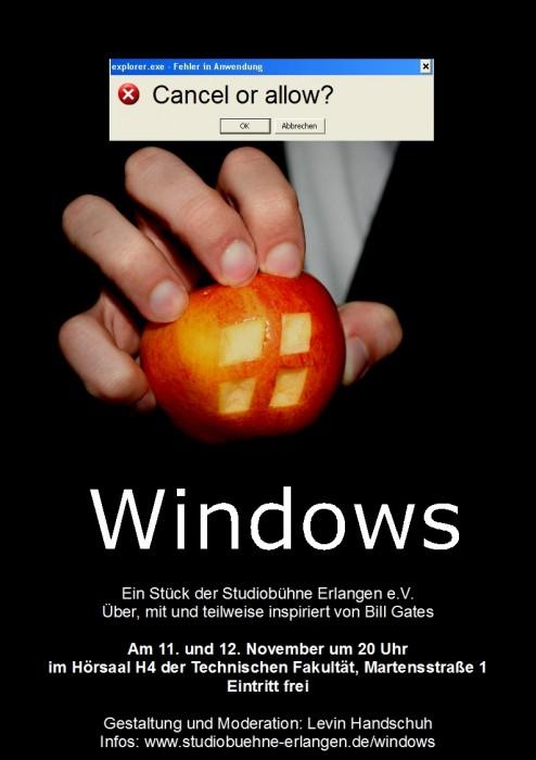 Windows-Plakat